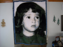 Wife at 4 (rug)
