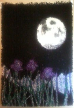 Completed Moon Rug