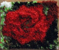 One Red Rose Rug